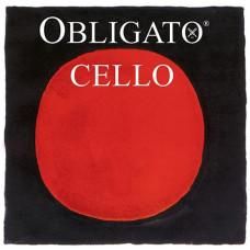 431020 Obligato Cello Комплект струн для виолончели (синтетика) Pirastro