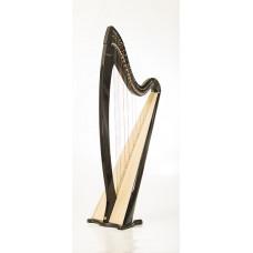 RHL004 Арфа леверсная, 36 струн, цвет: черный, Resonance Harps