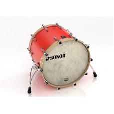 """16122438 SQ1 2414 BD NM 17338 Бас-барабан 24"""" x 14"""", без кронштейна, красный, Sonor"""