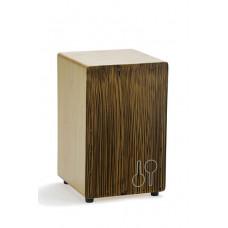 90608517 CAJ SBS Mosquito Sand Black Stripes Кахон, песочный, Sonor