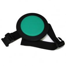 COOKIEPAD-6KZ Cookie Pad Тренировочный пэд наколенный, бесшумный, зеленый, Cookiepad