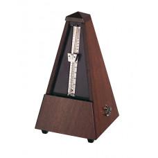 804M Maelzel Метроном механический, деревянный корпус, без звоночка, матовый, Wittner