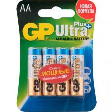 GP15AUPNEW-2CR4 Ultra Plus New Элемент питания АА, 4шт, алкалиновый, GP