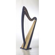 RHL006 Арфа леверсная, 36 струн, цвет: синий, Resonance Harps