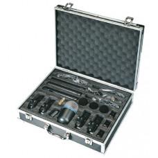 E08W-1 Комплект конденсаторных микрофонов для ударной установки, в кейсе, Soundking