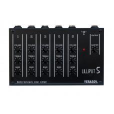 LILLIPUT-5B Микшерный пульт, 3 линейных/ 2 микрофонных входа, Yerasov