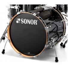 17322540 ESF 11 2217 BD WM 11234 Essential Force Бас-барабан 22'' x 17,5'', черный, Sonor