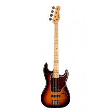046928 Shifter Classic 4 Vintage Burst Flame MN Бас-гитара с чехлом, санберст, Godin