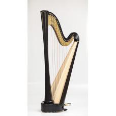 RHC21004 Арфа, 40 струн, прямая дека, отделка цвет-Эбен, Resonance Harps