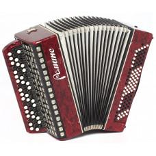 C9-RED Баян «Романс» 55х100-II, красный, Шуйская гармонь