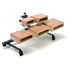 90617800 TT5 Temple Block Набор деревянных блоков на стойке, Sonor
