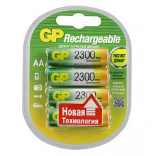 GP230AAHC-2DECRC4 Аккумуляторный элемент питания АА, Ni-MH, 2300, 4шт, GP