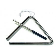 20602401 Latino Triangle LTR 18 Треугольник с палочкой, 18см, Sonor