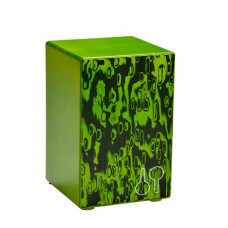 20801705 Orff CAJ BA Green Baterita Кахон, зеленый, Sonor