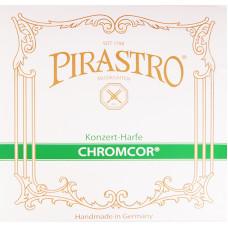 375600 Chromcor Отдельная струна G/Соль (5 октава) для арфы, сталь/посереберенная, Pirastro