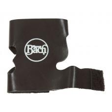 8311BV Чехол (рубашка) для защиты помпового механизма трубы/корнета, кожа, с липучкой, чёрный, Bach