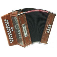 A2660 Merlin G/C Диатонический аккордеон Hohner