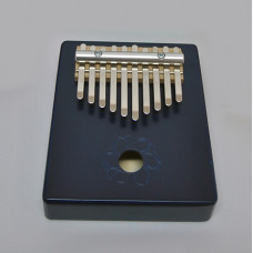 KMKr-2-BL Escudo Калимба, резонаторная, 10 язычков, трапеция, синяя, Мозеръ