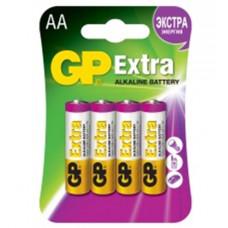 GP15AX-2CR4 Extra Элемент питания АА, алкалиновый, 4шт, GP
