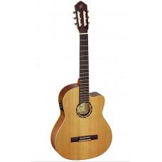 RCE131 Family Series Pro Классическая гитара со звукоснимателем, размер 4/4, матовая, Ortega