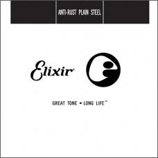 13015 Anti-Rust Отдельная струна для гитары, сталь, .015, Elixir
