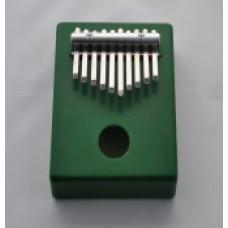 KMKr-1-GR Piastra Калимба, резонаторная, 10 язычков, прямоугольная, зеленая, Мозеръ