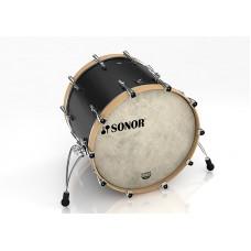 """16122236 SQ1 2217 BD NM 17336 Бас-барабан 22"""" x 17"""", без кронштейна, черный, Sonor"""