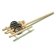 29721001 Jingle Stick PJS Бубенцы на ручке, 2 пары, Sonor