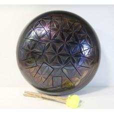AL30-CP-FL Глюкофон 30см Цветок Жизни - Pentatonic Major 440гц, Мастерская Алатырь