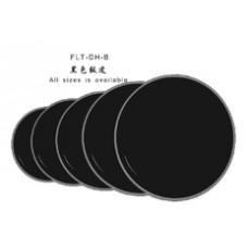 "FLT-DH-B-15 Пластик для барабана 15"", черный, Fleet"