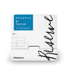 DCR0135-B25 Reserve Трости для кларнета Bb, размер 3.5, 25шт в индивидуальной упаковке, Rico