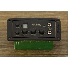 SH-ALLEGRO Звукосниматель с тембрблоком, врезной, для акустической гитары, Shadow