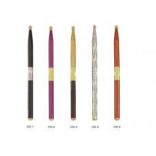 CD-1 Барабанные палочки, клен, черный лак, Lutner
