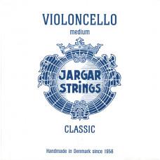 Cello-C-Classic Отдельная струна С/До для виолончели размером 4/4, среднее натяжение, Jargar Strings