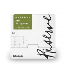 DJR0130-B25 Reserve Трости для саксофона альт, размер 3.0, 25шт в индивидуальной упаковке, Rico