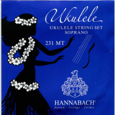 231MT Комплект струн для укулеле сопрано, европейский строй, Hannabach