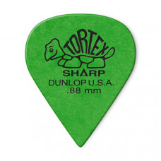 412R.88 Tortex Sharp Медиаторы 72шт, толщина 0,88мм, Dunlop