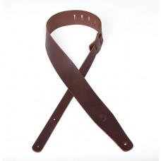 *26TL01-DX Thick Leather Кожаный ремень для гитары, 63,5мм, коричневый, Planet Waves