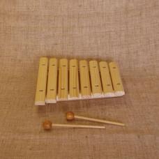 MS-K1-KS-07 Ксилофон диатонический (8 пластин), Мастерская Сереброва