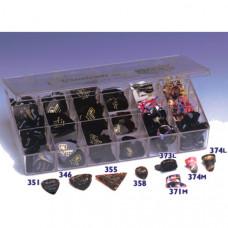 16PRO Коробка медиаторов 8 форм, 504 медиатора (351, 346, 355, 358, 373L/M, 374L/M) D'Andrea