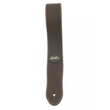 037254 Mat Brown Leather Ремень для гитары, кожаный, коричневый, Godin
