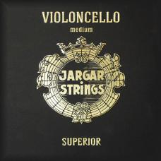 Cello-C-Superior Отдельная струна С/До для виолончели размером 4/4,среднее натяжение, Jargar Strings