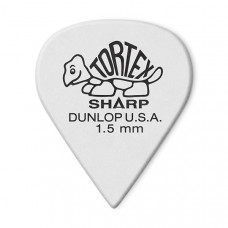 412R1.50 Tortex Sharp Медиаторы 72шт, толщина 1,5мм, Dunlop