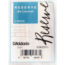 DCR02355 Reserve Трости для кларнета Bb, размер 3.5+, 2шт., Rico