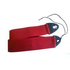 1355RED Polyweb Ace-Lock Ремень для гитары, красный, D'Andrea