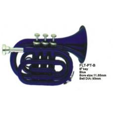 FLT-PT-BL Труба компактная, Bb-key, лакированная, цвет - синий. Conductor