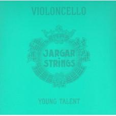 Cello-3/4-Set Young Talent Комплект струн для виолончели размером 3/4, Jargar Strings