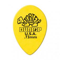 423R.73 Tortex Small Teardrop Медиаторы, 36шт, м/капля, толщина 0.73мм, Dunlop