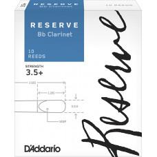 DCR10355 Reserve Трости для кларнета Bb, размер 3.5+, 10шт., Rico