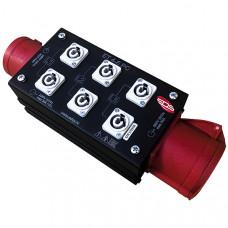 ET4-6PC Дистрибьютор питания, туровый, EDS